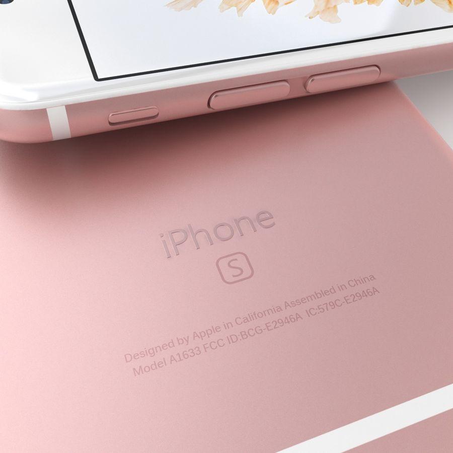 아이폰 6S 로즈 골드 royalty-free 3d model - Preview no. 10