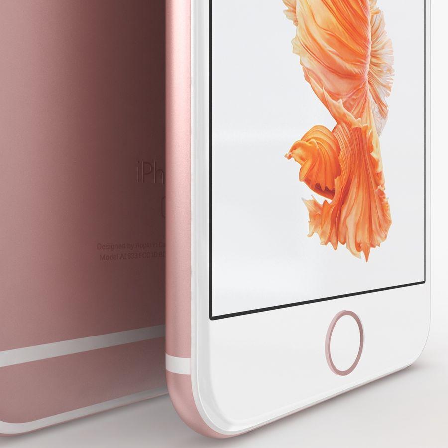 아이폰 6S 로즈 골드 royalty-free 3d model - Preview no. 5