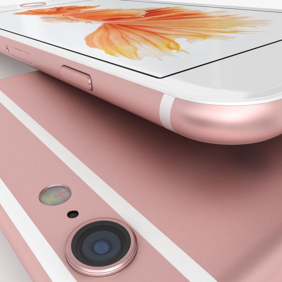 아이폰 6S 로즈 골드 royalty-free 3d model - Preview no. 9