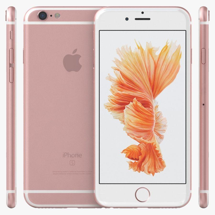 아이폰 6S 로즈 골드 royalty-free 3d model - Preview no. 1