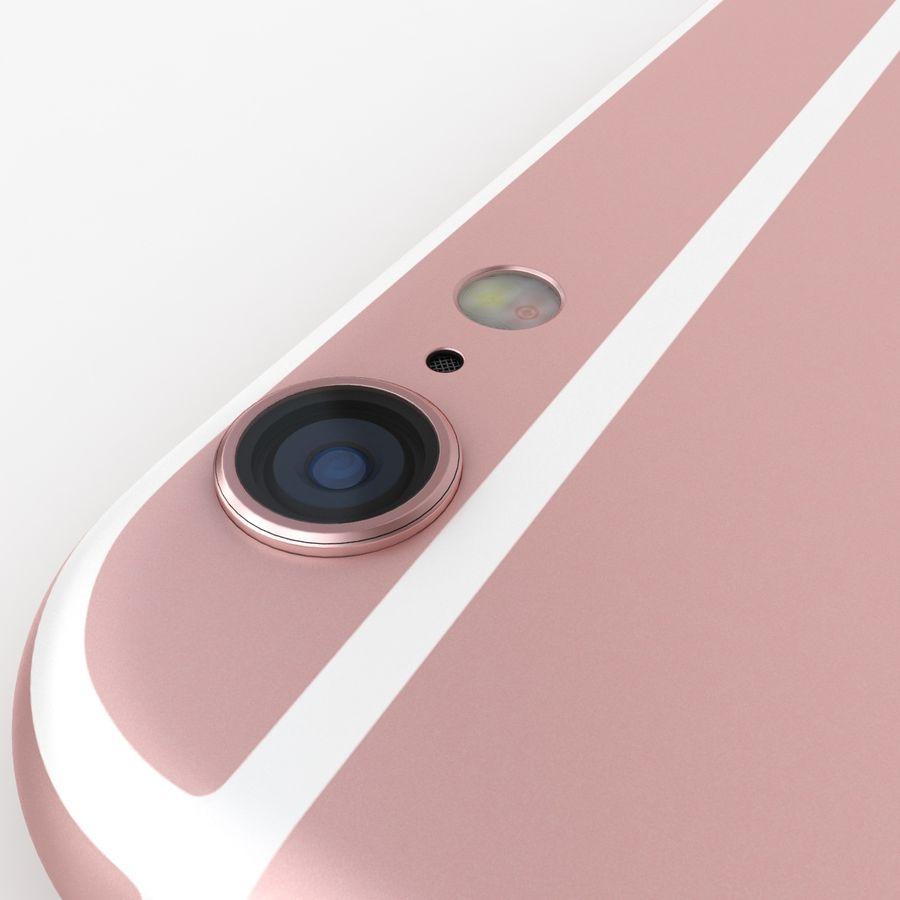 아이폰 6S 로즈 골드 royalty-free 3d model - Preview no. 13