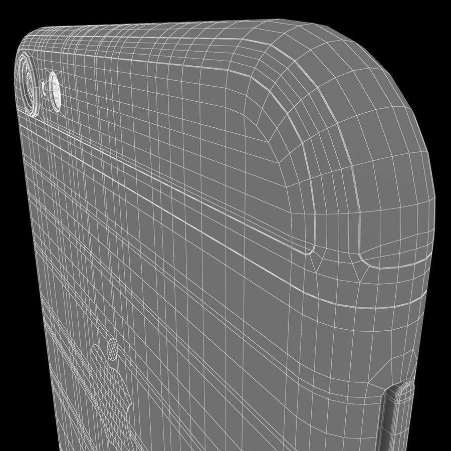 iPhone 6S Espaço Cinzento royalty-free 3d model - Preview no. 18