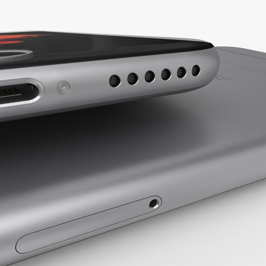 iPhone 6S Espaço Cinzento royalty-free 3d model - Preview no. 12
