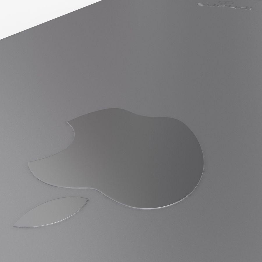 iPhone 6S Espaço Cinzento royalty-free 3d model - Preview no. 14