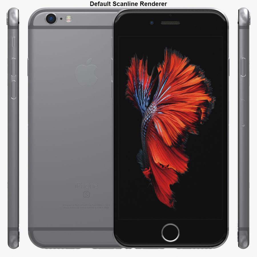 iPhone 6S Espaço Cinzento royalty-free 3d model - Preview no. 29