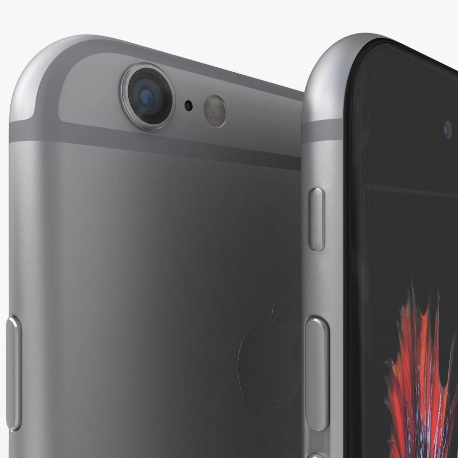 iPhone 6S Espaço Cinzento royalty-free 3d model - Preview no. 4