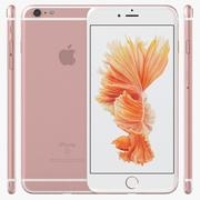 iPhone 6S Plus Rose Gold 3d model