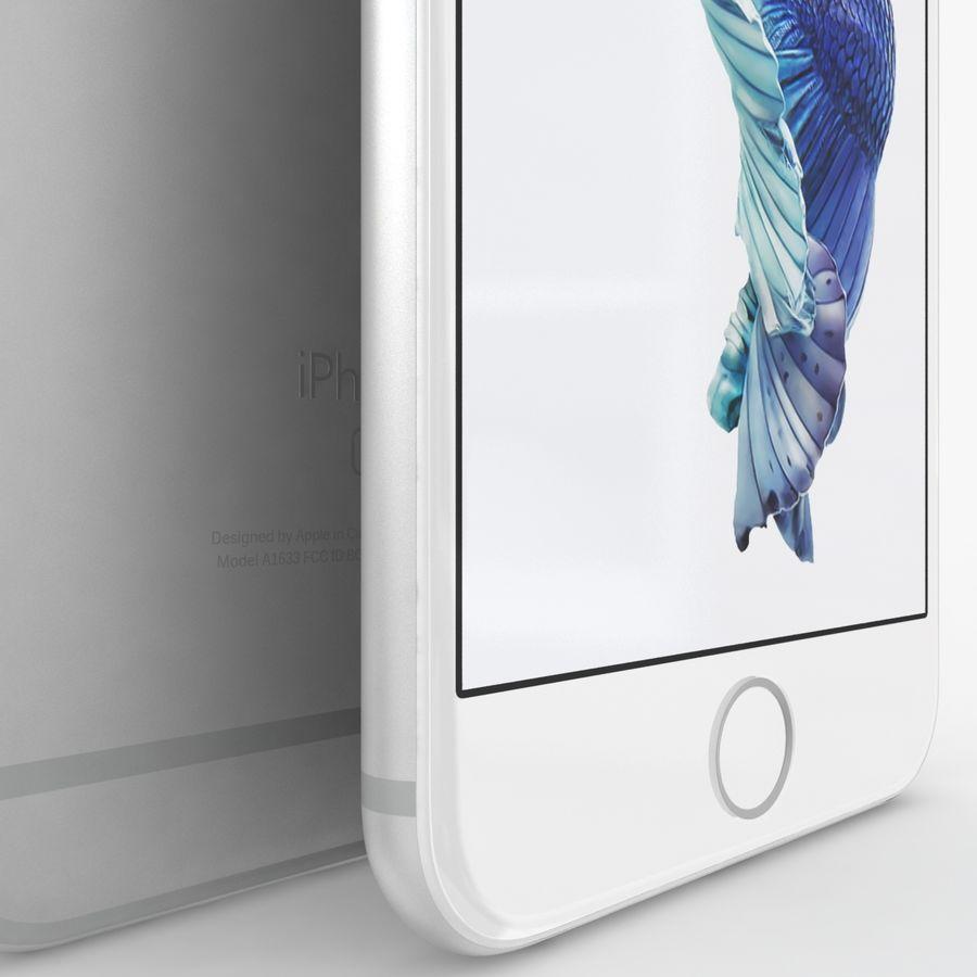 iPhone 6S Plus Prateado royalty-free 3d model - Preview no. 5