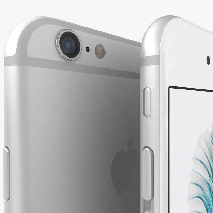 iPhone 6S Plus Prateado royalty-free 3d model - Preview no. 4