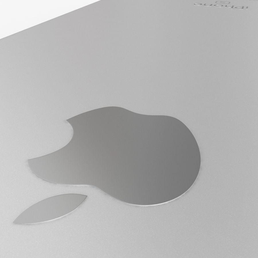 iPhone 6S Plus Prateado royalty-free 3d model - Preview no. 14