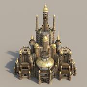 シャアライイム市-宮殿 3d model