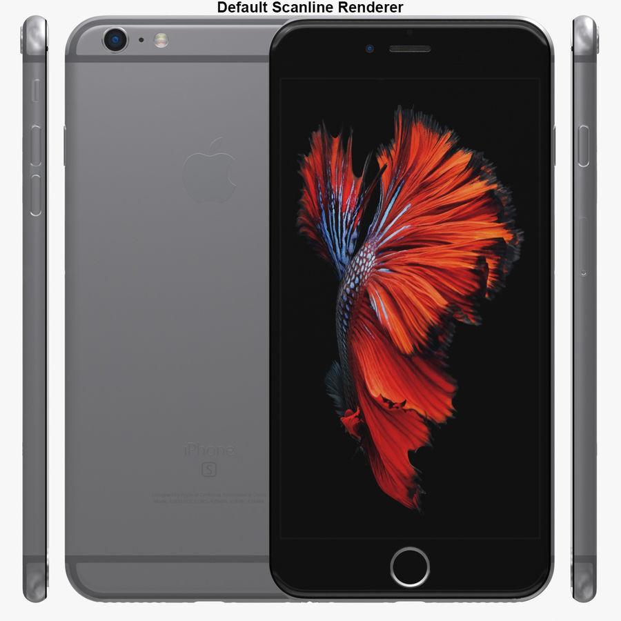iPhone 6S Plus Espaço Cinzento royalty-free 3d model - Preview no. 29