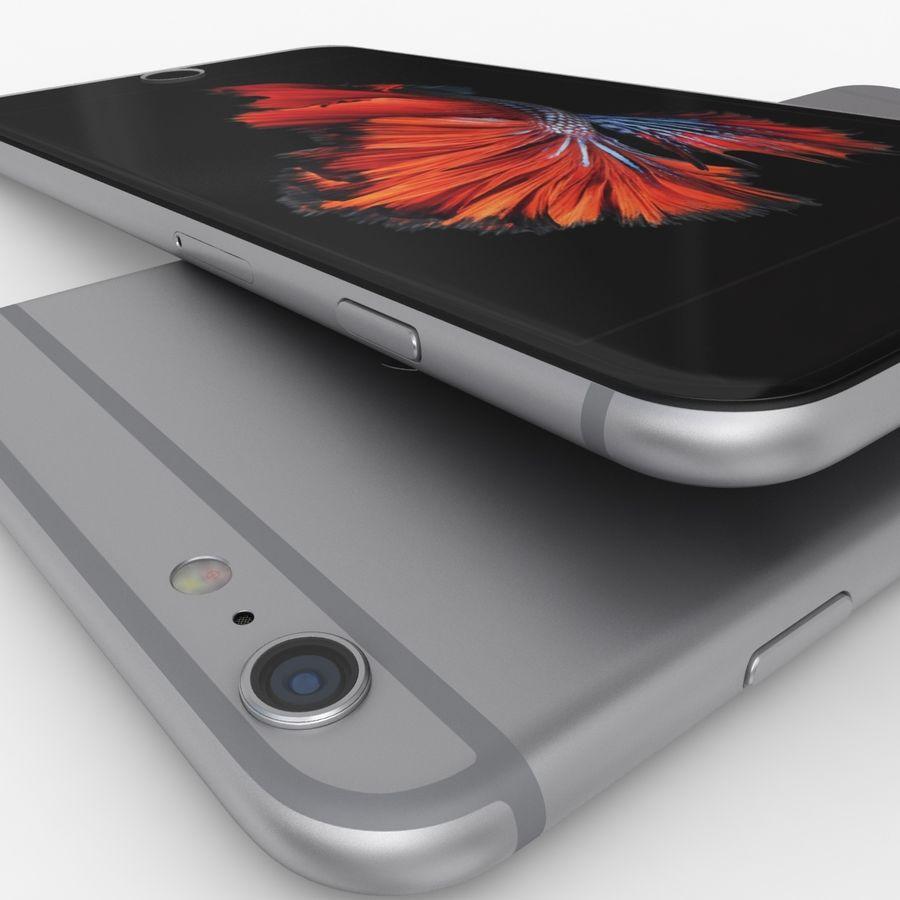 iPhone 6S Plus Espaço Cinzento royalty-free 3d model - Preview no. 9