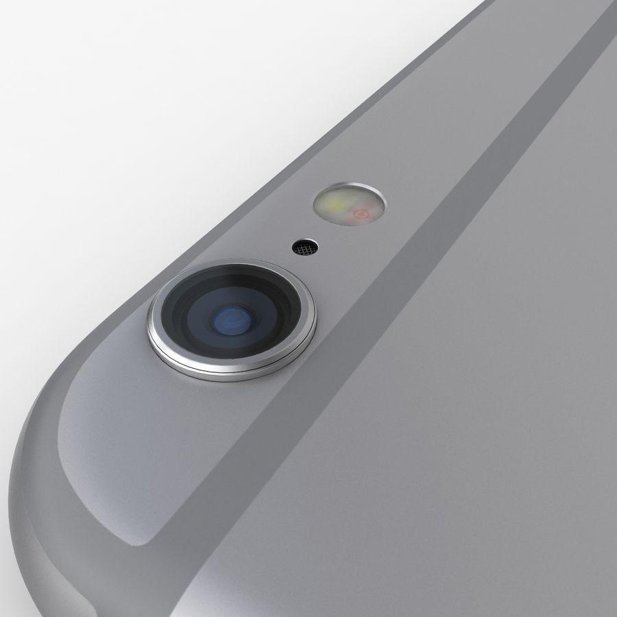 iPhone 6S Plus Espaço Cinzento royalty-free 3d model - Preview no. 12