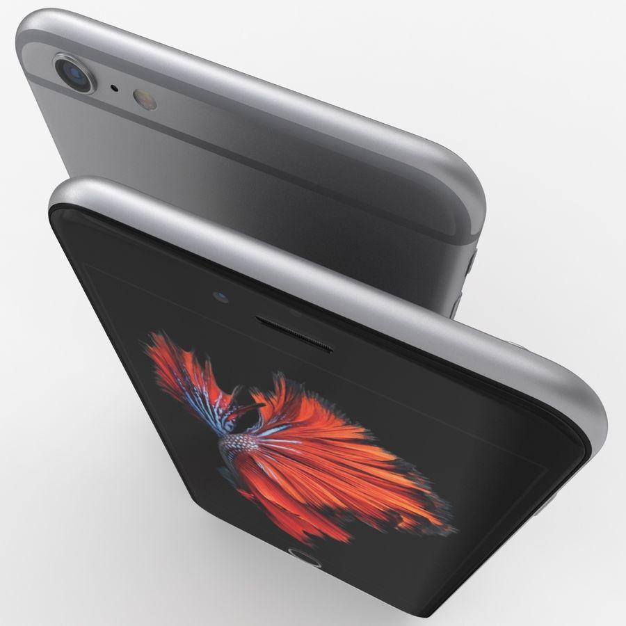 iPhone 6S Plus Espaço Cinzento royalty-free 3d model - Preview no. 7