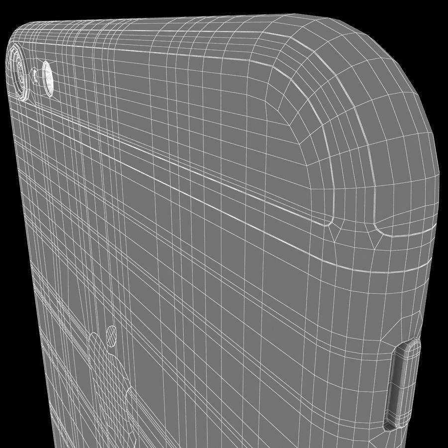 iPhone 6S Plus Espaço Cinzento royalty-free 3d model - Preview no. 17