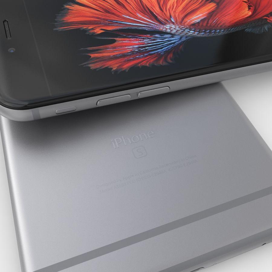 iPhone 6S Plus Espaço Cinzento royalty-free 3d model - Preview no. 10