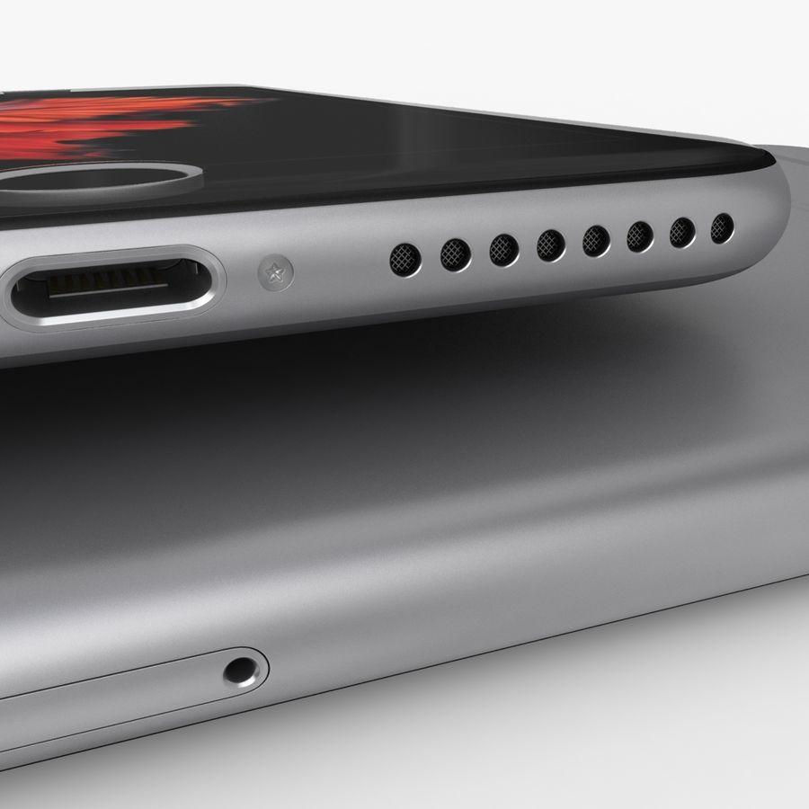 iPhone 6S Plus Espaço Cinzento royalty-free 3d model - Preview no. 11