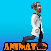 doctor animated 3d model
