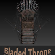 Bladed Throne 3d model