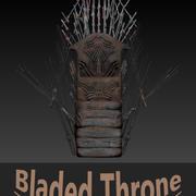 Bladed Throne 3d model