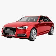 Audi A4 2016 Avant 02 3d model