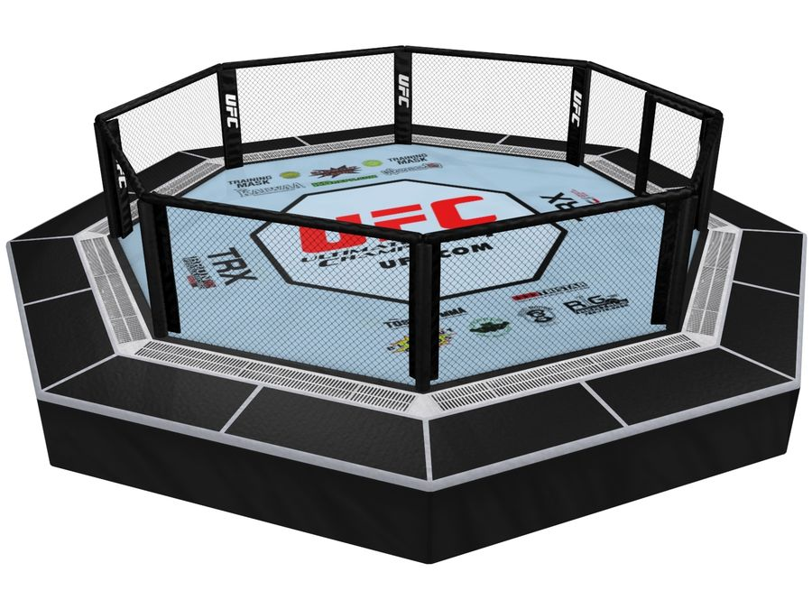 UFC octagon ring V2 3D Model $79 - .max .obj .fbx - Free3D