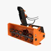 吹雪机附件 3d model