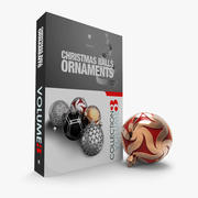 Christmas Ball Ornaments Collection 3d model
