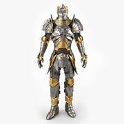 Medieval Armor v2 3d model