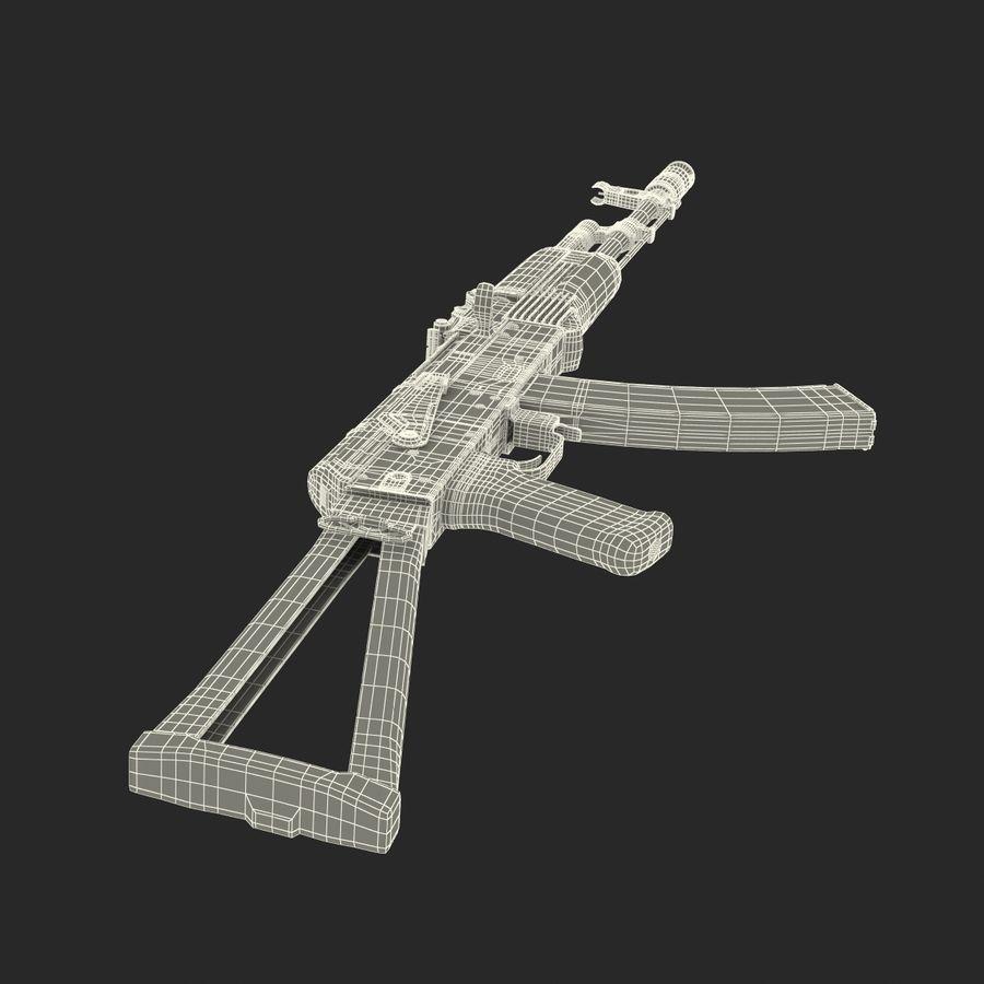 Assault Rifle AKS 74 3D Model royalty-free 3d model - Preview no. 36