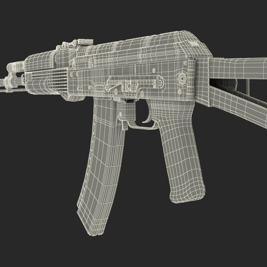 Assault Rifle AKS 74 3D Model royalty-free 3d model - Preview no. 39