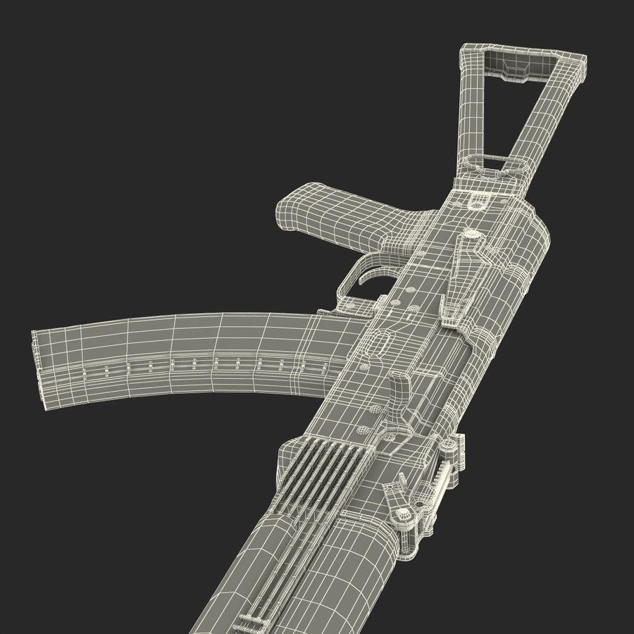 Assault Rifle AKS 74 3D Model royalty-free 3d model - Preview no. 38