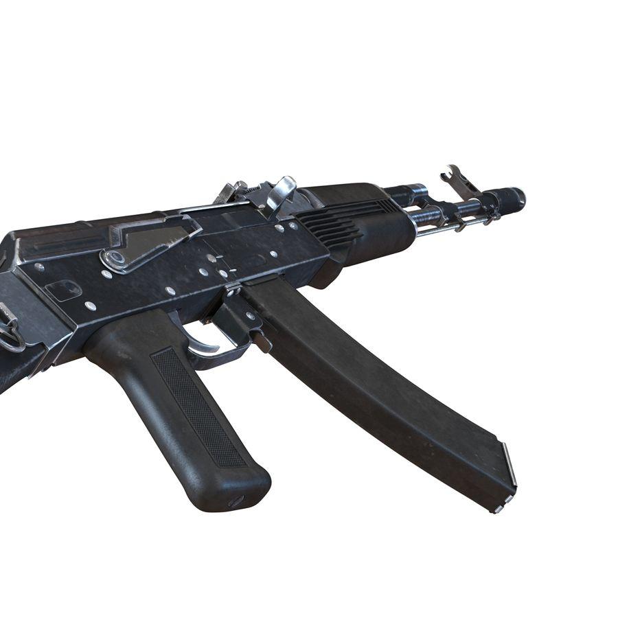 Assault Rifle AKS 74 3D Model royalty-free 3d model - Preview no. 14