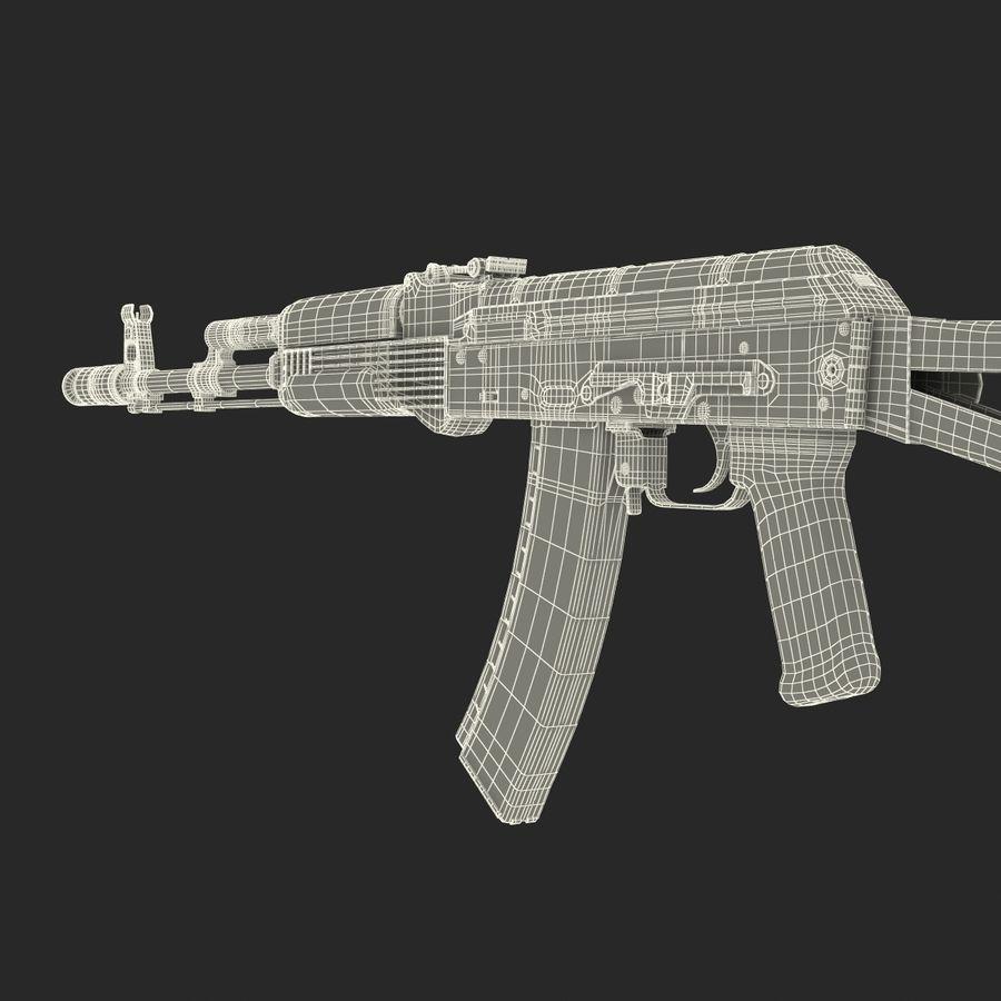 Assault Rifle AKS 74 3D Model royalty-free 3d model - Preview no. 34