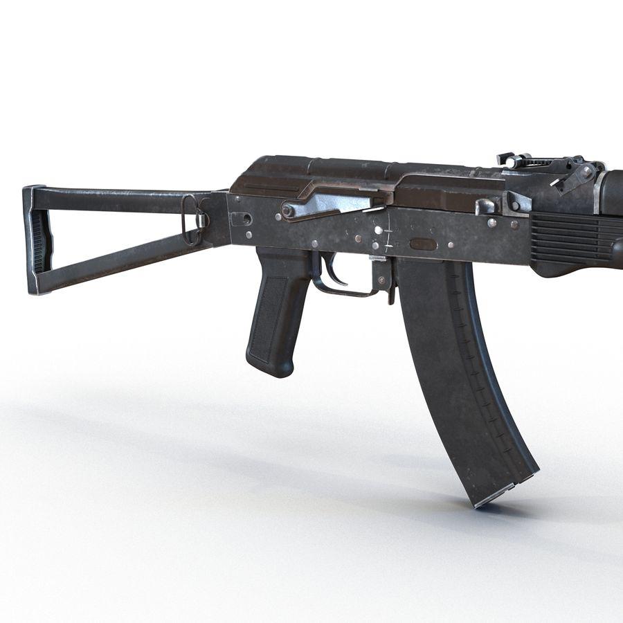 Assault Rifle AKS 74 3D Model royalty-free 3d model - Preview no. 13