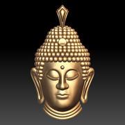 Buddha pendant 3d model