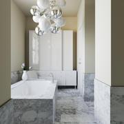 AD_bathroom_interior 3d model