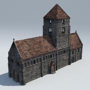 Średniowieczna kaplica 3d model