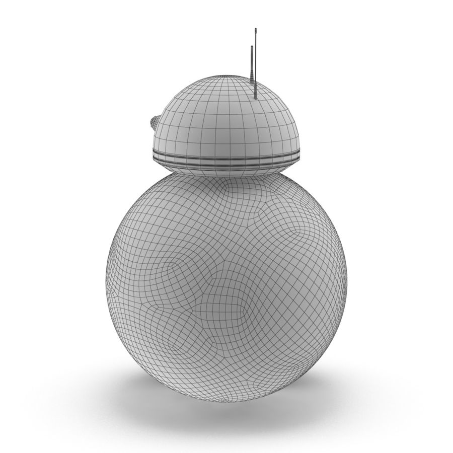 BB-8 Star Wars royalty-free 3d model - Preview no. 10