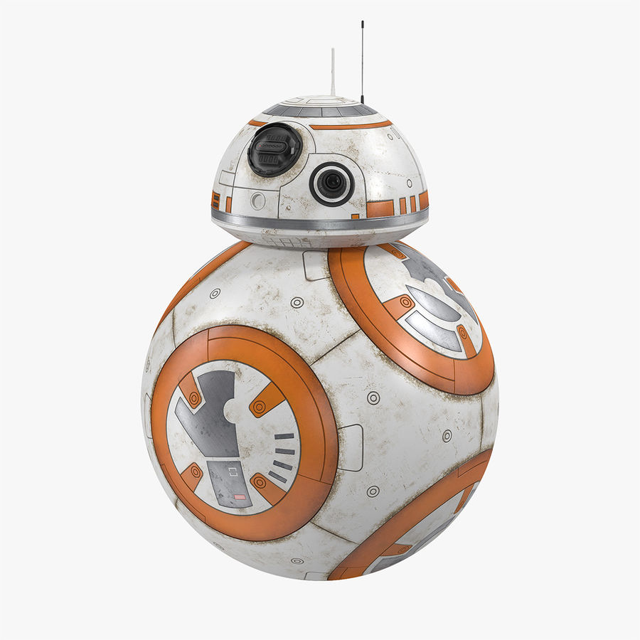 BB-8 Star Wars royalty-free 3d model - Preview no. 1
