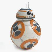 BB-8 Droid Star Wars 3d model