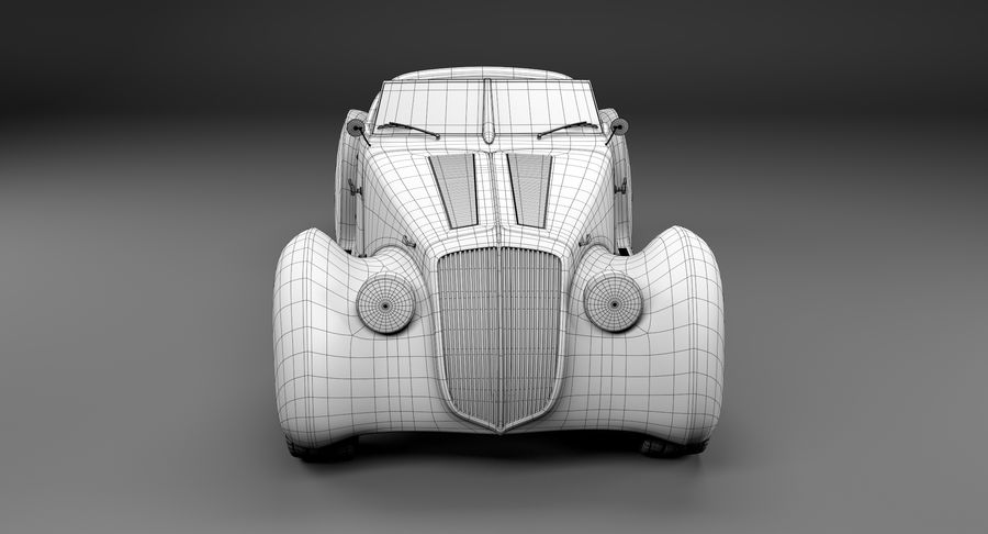 コンセプトカー royalty-free 3d model - Preview no. 21