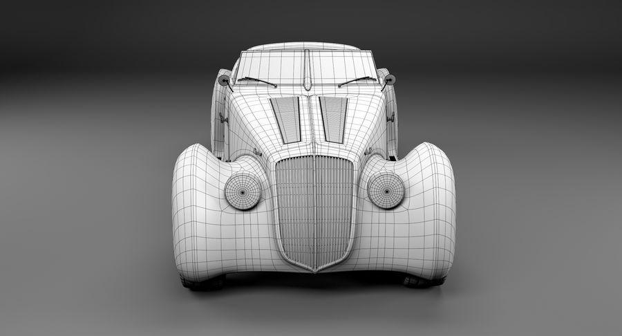 Prototype de voiture royalty-free 3d model - Preview no. 21