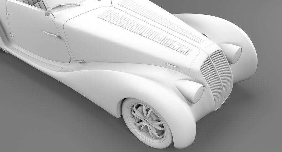 Prototype de voiture royalty-free 3d model - Preview no. 51