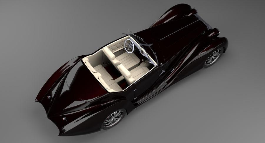 Prototype de voiture royalty-free 3d model - Preview no. 6