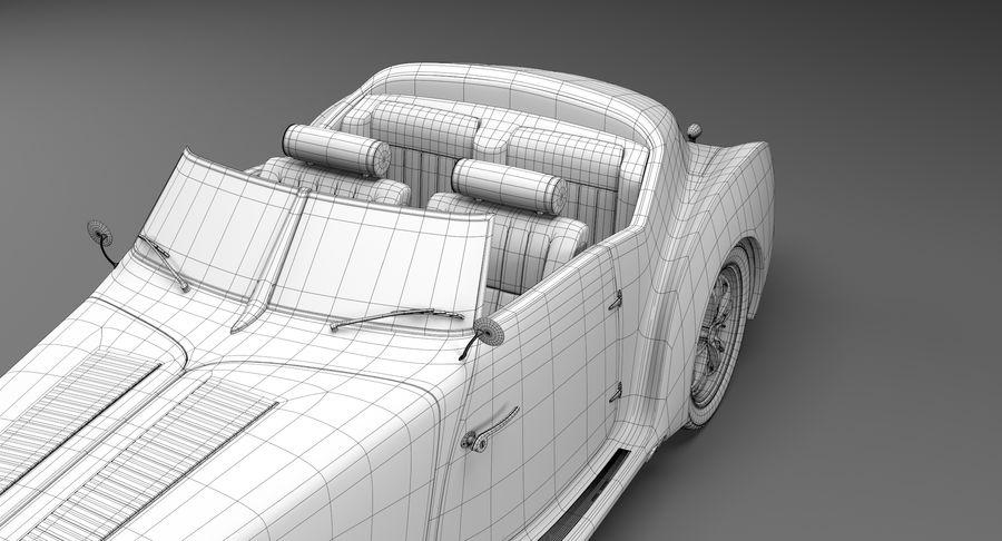 Prototype de voiture royalty-free 3d model - Preview no. 37