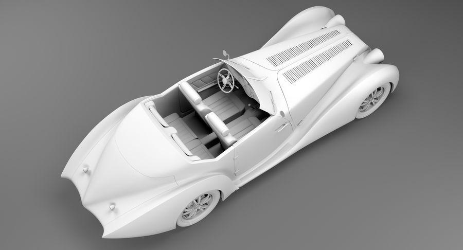 Prototype de voiture royalty-free 3d model - Preview no. 42