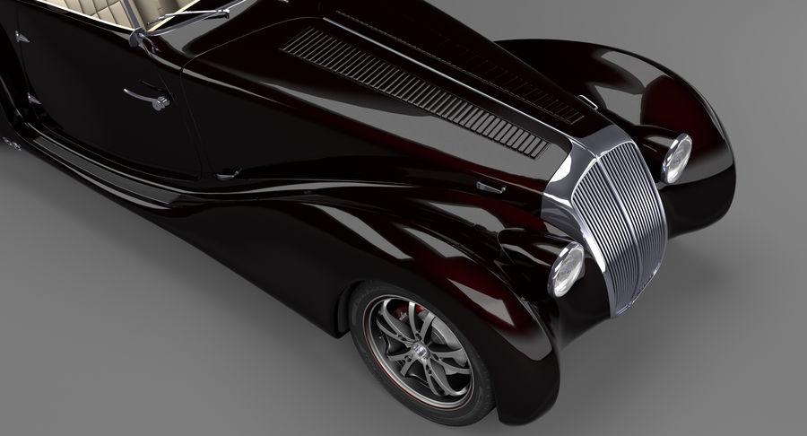 Prototype de voiture royalty-free 3d model - Preview no. 15