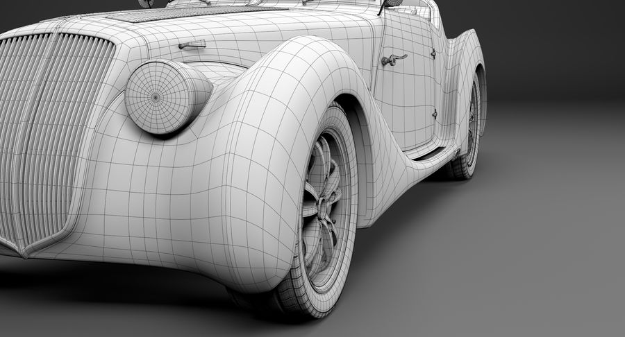 コンセプトカー royalty-free 3d model - Preview no. 25